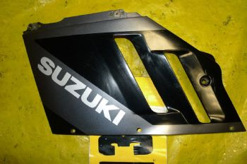 Suzuki GSXR 750 BREAKING. LEFT FAIRING (WEB-STOCK)(A=SK) YELLOW 13 BIKE BREAKERS (CON-C)